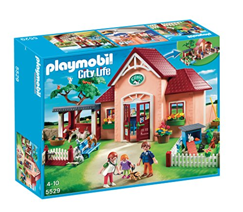 PLAYMOBIL Veterinaria - Playset clínica 5529