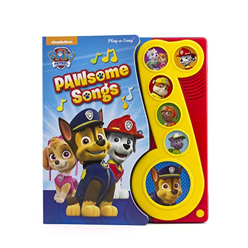 Nickelodeon PAW Patrol - PAWsome Songs! Music Sound Book - PI Kids