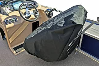Captain's Chair Boat Seat Cover for Pontoon Boat Seats Covers and Marine Accessories