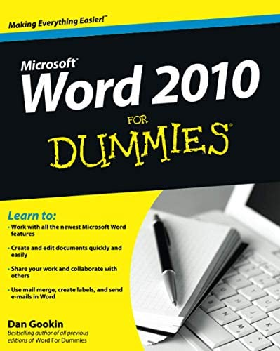 Word 2010 For Dummies product image