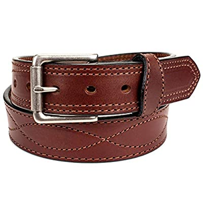 Amish Made Western Leather Tool Belt (40, Dark Brown)