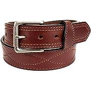 Amish Made Western Leather Tool Belt (40, Dark Brown)