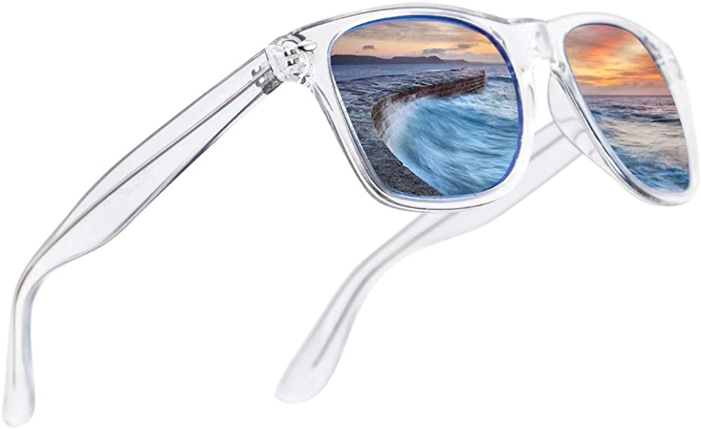 sold out LR Polarized Mens Classic National products Trendy Stylish UV400 Clip-o Sunglasses