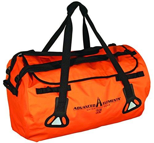 ADVANCED ELEMENTS Abyss All-Weather Duffel Bag, 60L Orange