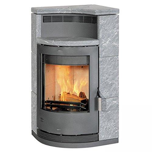 Kaminofen / Eckkaminofen Fireplace Lyon Speckstein 8kW