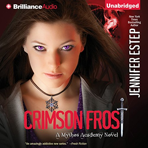 Crimson Frost audiobook cover art