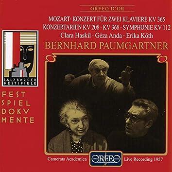 Mozart: Piano Concerto No. 10, Il rè pastore, Ma che vi fece & Symphony No. 13