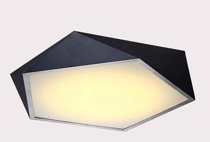 Plafonniers liwenlong Lampe de plafond Led salon la chambre Fer à repasser l'éclairage, 52cm d'occultation de gradient