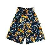 Flow Society Scientific Boys Athletic Shorts - Boys Lacrosse Shorts Blue