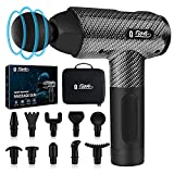 Muscle Massage Gun Deep Tissue for Athletes, Upgrade Percussion Muscle Massage Gun for Neck Back, Shoulder Body Pain Relief, 10 Heads, 30 Speeds with LCD Screen
