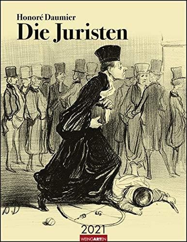 Honoré Daumier Die Juristen Kalender 2021