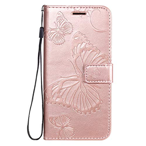 Hirkase for Samsung Galaxy A41 Case, Flip Shockproof Wallet Phone Case with Wrist...