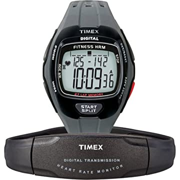 Timex Digital Fitness Heart Rate Monitor Watch