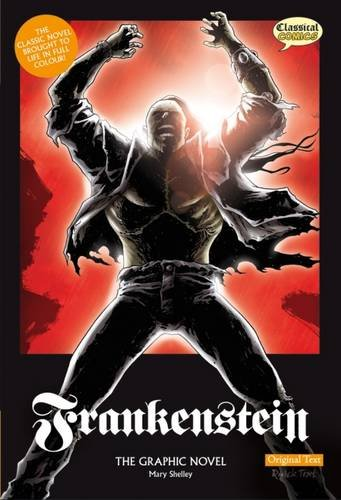 Frankenstein The Graphic Novel by Marry Shelley