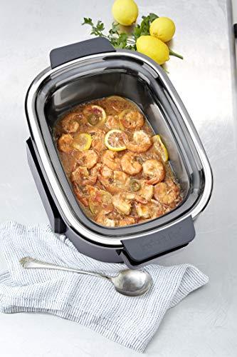 Instant Pot Aura Pro Multi-Use Programmable Slow Cooker with Sous Vide, 8 quart, Silver (AURA PRO 6QT)