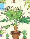 Planner: Agenda Grande Mensile Settimanale annuale Giornaliera Planner per 2 anni- 24 mesi Calendario - non datato - per pianificazione obiettivi e progetti, 21,5 x 28 cm