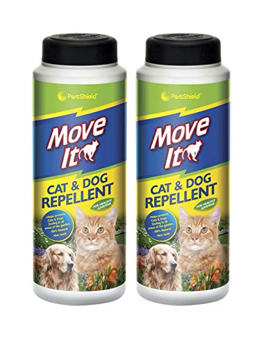 PestShield Move It Cat & Dog Garden Repellent Non Toxic 100% Natural 240g 2 Pack
