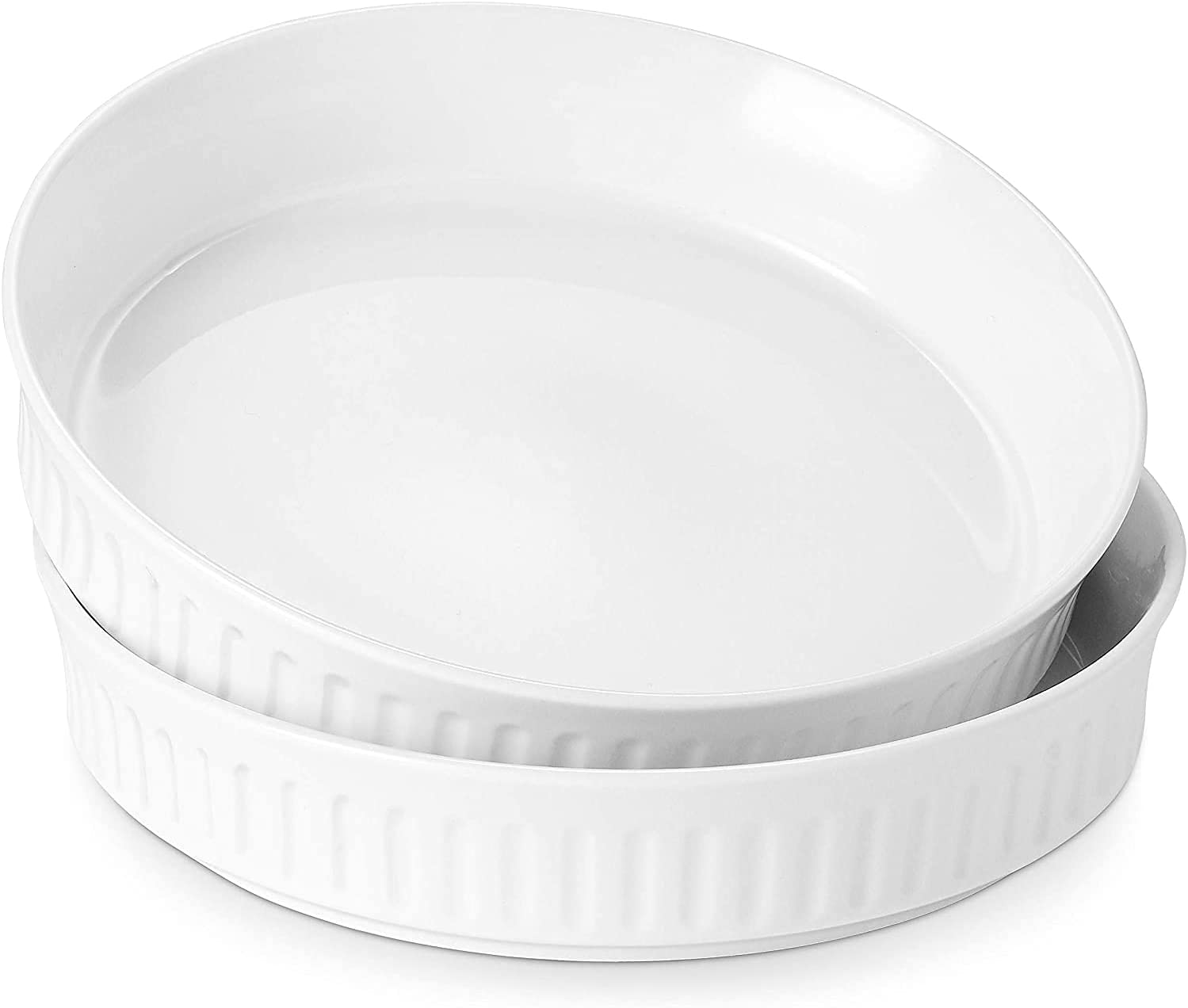 DOWAN Quiche Pan Set of 2-8 Baking Pie Inches P Ceramic Special sale item for Ranking TOP11