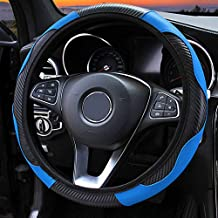 LAIYYI - Funda para volante de coche (14,56-38,1 cm), diseñ
