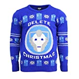 Official Doctor Who BBC Christmas Jumper/Ugly Sweater UK M/US S