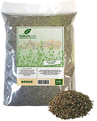 Mint Leaves (Crushed) 1 Pound Bulk Bag-Mentha