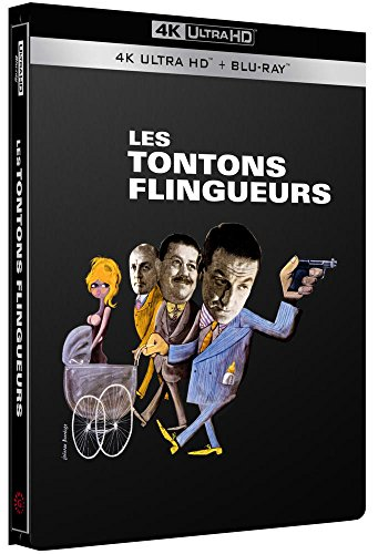 Les Tontons flingueurs [Édition Limitée SteelBook 4K Ultra HD + Blu-Ray]
