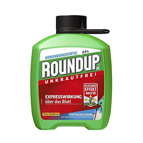 Roundup AC Unkrautfrei Nachfüllflasche 2,5 l AF - ohne Glyphosat