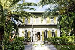Key West, Florida - Hemingway House - Photography A-93050 (12x18 Fine Art Print, Home Wall Decor Artwork Poster)