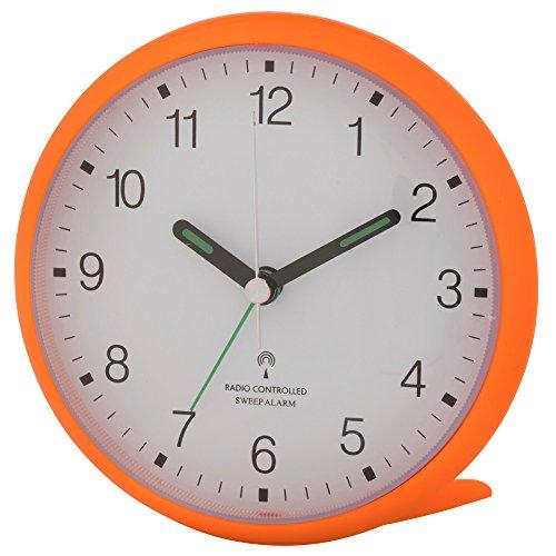 Wetterladen TFA Dostmann 60.1506 geluidloze analoge wekker met sweep-uurwerk
