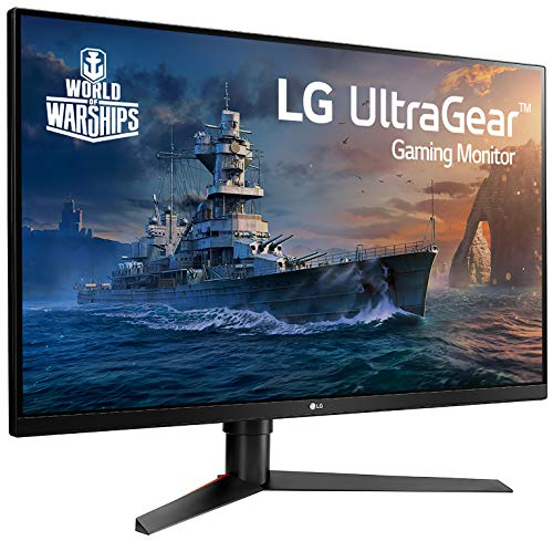 LG 32GK650F-B 32″ QHD Gaming Monitor with 144Hz Refresh Rate and Radeon FreeSync Technology