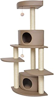 Home Equipment Cat Scratching Post Climbing Tree Play Towers New Four Layer Cat Rack Sack Spring and Summer Cat Litter One...