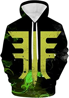 3D Destiny 2 Forsaken Emblem Men's Sweatshirt Hooded Fleece Casual Jacket Hoodies with Pocket Pullover