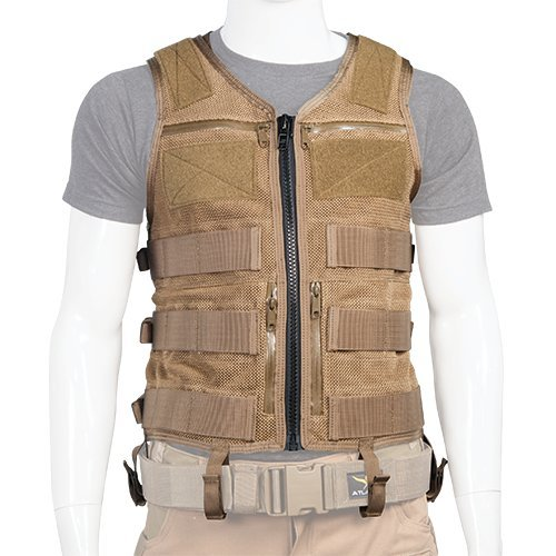 Atlas 46 AIMS Saratoga Vest Universal Chest Rig - Small, Coyote | Made...