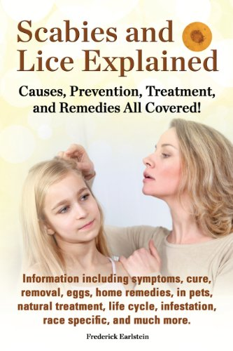 Scabies and Lice Explained: Causes, Prevention, Treatment, and Remedies All Covered! Information including symptoms, cure, removal, eggs, home remedies, ... natural treatment, life cycle, & more!