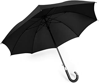 DAVEK ELITE UMBRELLA - Quality Cane Umbrella with Automatic Open, Strong & Windproof