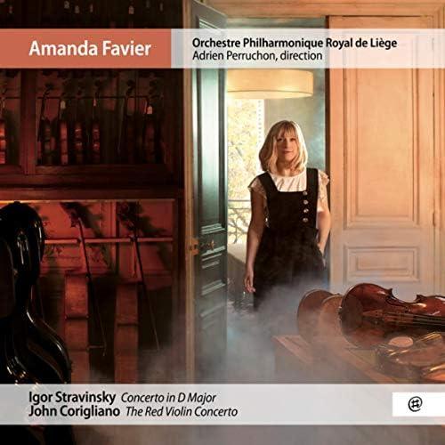 Amanda Favier, Orchestre Philharmonique Royal de Liège & Adrien Perruchon