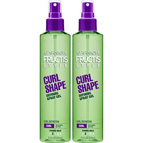 Garnier Fructis Style Shape Defining Spray Gel, (Packaging May Vary) Curl 17 Fl Oz (Pack of 2)
