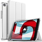 ELTD Custodia Cover per Huawei MediaPad M5 8.4, Ultra Lightweight Pelle con Funzione di Stand Flip Copertina Smart Cover per Huawei MediaPad M5 8.0 8.4' Pollici Tablet, Nero