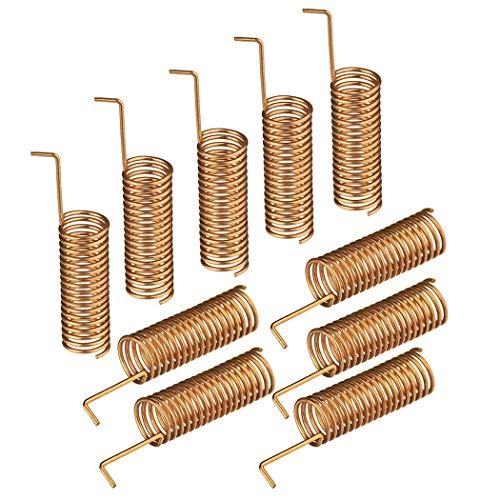 10 STKS Spring Antenne Professionele 433 MHz Helical Antenne Afstandsbediening Antennacar schoonmaken