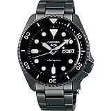 Seiko SRPD65 5 Sports 24-Jewel Automatic Watch - Black/Stainless