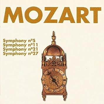 Mozart - Symhony Nº 5, Nº 11, Nº 21, Nº 27