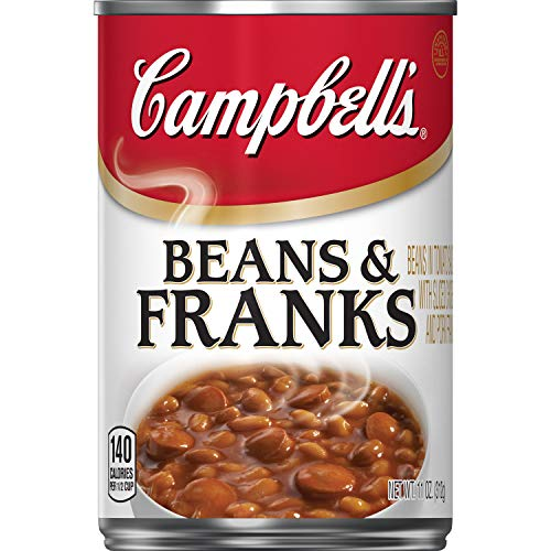 Campbell's Beans & Franks, 11 oz. Can (Pack of 12)