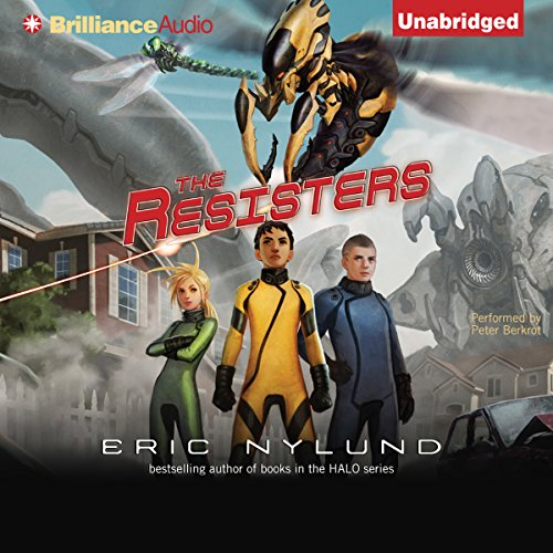 The Resisters audiobook cover art