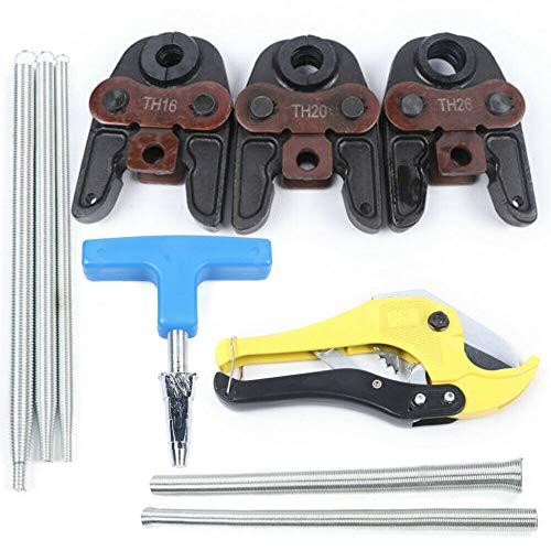 Pressbacke TH16 TH 20 TH 26 - Alicates de prensado para tubos de unión, muelle de flexión, tijeras de tubo, juego de herramientas