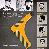 ヒゲセット ツールコーム 男性用 髭剃りひげ櫛
