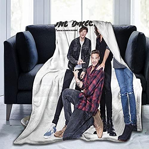 Manta ultra suave de microfibra de forro polar en una dirección para el hogar, sofá, cama, sofá, acogedora, cálida manta impresa en 3D para niños y adultos, 127 x 101 cm