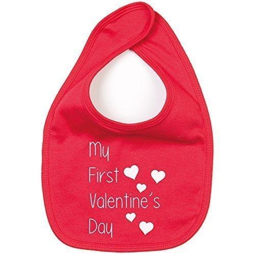 MYOG My First Valentines Day Baby Bib...