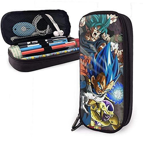 astuccio scuola elementare dragonball Astuccio portamatite in pelle di design anime Astuccio per cancelleria per scuola Dragon Ball Astuccio super cusomizzato