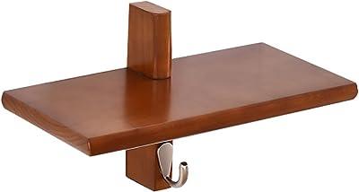 Amazon.com: Percha para dormitorio de madera maciza de color ...