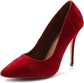 Best bright red suede pumps Reviews